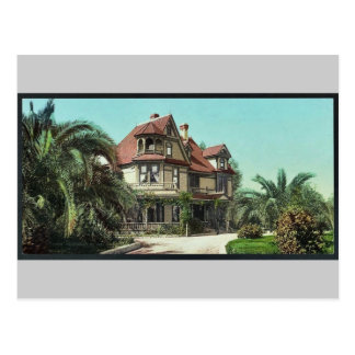 Residencia de Sr. A.K. Smiley, Redlands pH clásico Tarjeta Postal