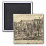 Residencia de Steffler y de Clark, Rochester Imanes
