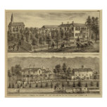 Residencia de Steffler y de Clark, Rochester Poster