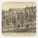 Residencia de Steffler y de Clark, Rochester Colcomanias Cuadradases