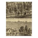 Residencia de Steffler y de Clark, Rochester Tarjetas Postales