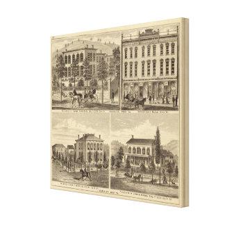 Residencia de Thomas Hornbrook Impresión En Lona