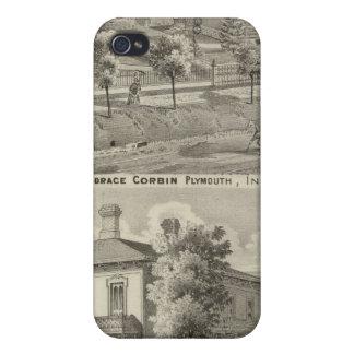 Residencia del juez Horacio Corbin iPhone 4 Cárcasas