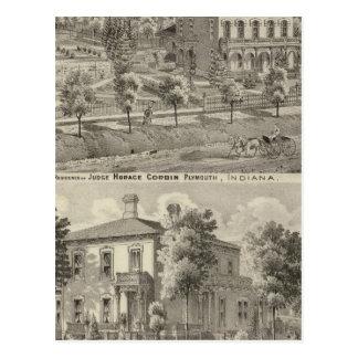 Residencia del juez Horacio Corbin Postal