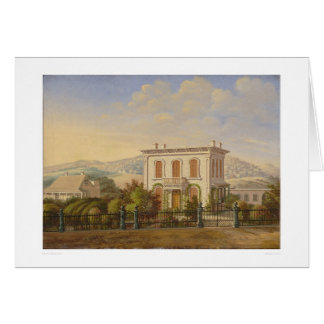 Residencia del Victorian, San Francisco, Tarjeta De Felicitación