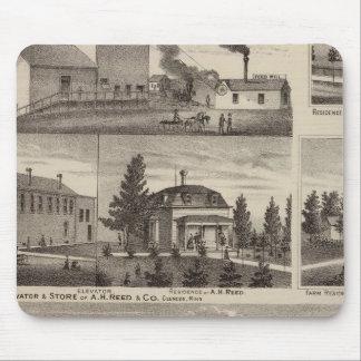 Residencia en Hutchinson, Minnesota Alfombrilla De Raton