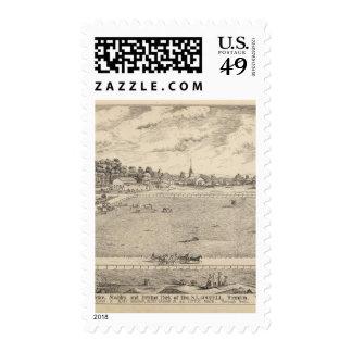 Residencia, establos, y conducción del parque sellos