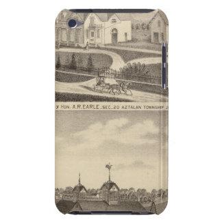 Residencia, granero y dependencias de AR Earle iPod Case-Mate Carcasa