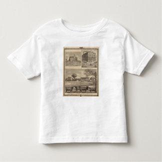 Residencia, universidad del oeste de la libertad t-shirt