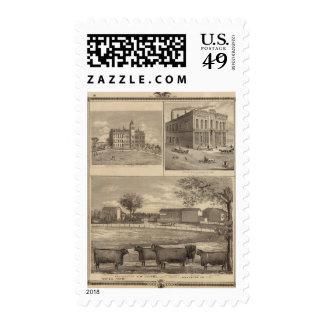 Residencia, universidad del oeste de la libertad sello