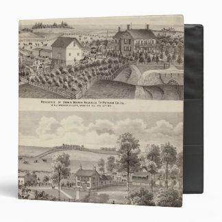 Residencia y residencia de la granja en la magnoli