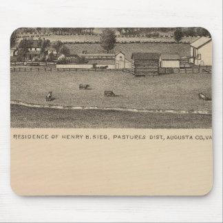 Residencias de Brown, el condado de Augusta Alfombrillas De Ratones