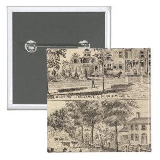 Residencias de Dunn, de Burditt y de Benedicto en  Pin Cuadrado