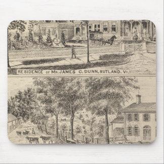 Residencias de Dunn, de Burditt y de Benedicto en  Tapete De Ratón