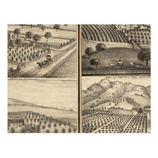 Residencias de Edward Jennings, Alfred Symonds Tarjetas Postales