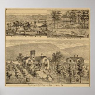 Residencias de HJ Murdoch Posters