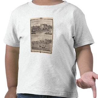 Residencias de J Butshall y de DM Flinn Camiseta