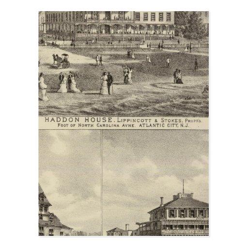 Residencias de la casa y de Kaighn y de la camilla Postal