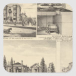 Residencias de San Jose, negocios, universidad Pegatina Cuadrada