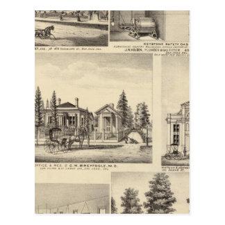 Residencias de San Jose, negocios, universidad Postal