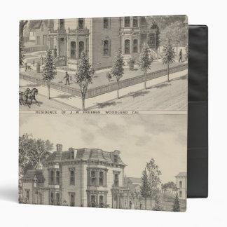 Residencias del arbolado litografiadas