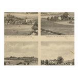 Residencias del condado de Augusta Tarjetas Postales