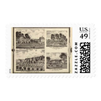 Residencias del trago timbres postales