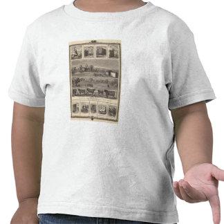 Residencias, granja, negocios en la libertad de W, Camiseta
