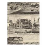 Residencias, granjas, negocios postales
