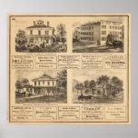 Residencias, hoteles, Titusville, Franklin Impresiones