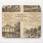 Residencias, hoteles, Titusville, Franklin Tapetes De Ratones