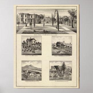 Residencias, monasterio póster