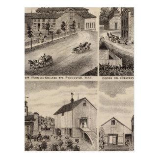 Residencias y cervecerías en Rochester, Minnesota Postal