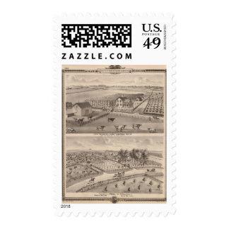 Residencias y granjas de la madera de J Canfield y Franqueo
