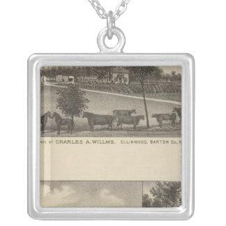 Residencias y granjas, Edgerton, Kansas Colgante Personalizado