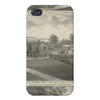 Residencias y granjas, el condado de Pottawatomie, iPhone 4 Coberturas