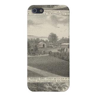 Residencias y granjas, el condado de Pottawatomie, iPhone 5 Carcasas