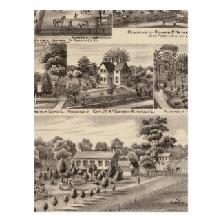 Residencias y granjas en Edgar, Hardin, Massac Postales
