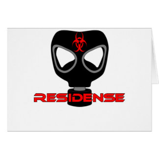 residense mask poison cartões