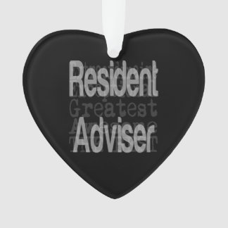 Resident Adviser Extraordinaire Ornament