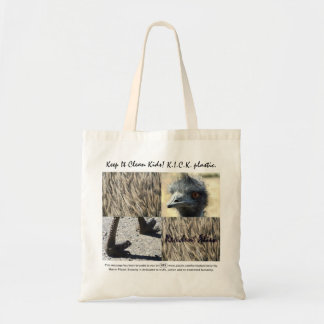 Resident Alien says Keep It Clean, Kids! Canvas Bags