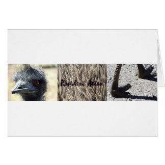 Resident Alien triptych Card