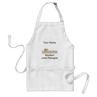 Resident cook/Therapist, Your Name Adult Apron