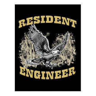 Resident Engineer Postcard