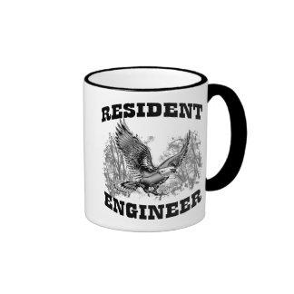 Resident Engineer Ringer Coffee Mug