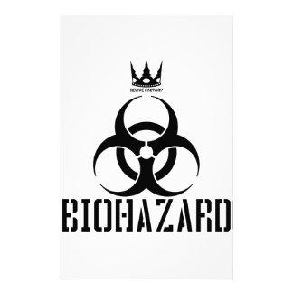resident, evil, design, unique, biological, weapon stationery paper