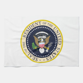 Resident of the United States Hand Towel