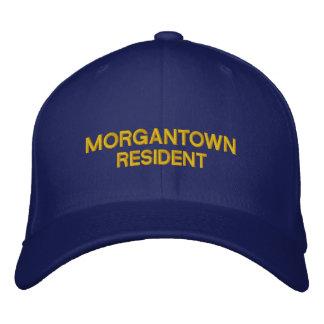Residente de Morgantown desde el casquillo Gorras Bordadas