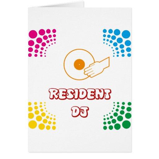 Residente DJ Felicitación