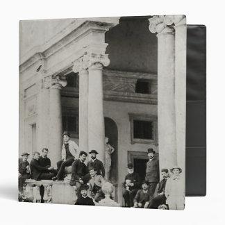 "Residentes del chalet Medici en Roma Carpeta 1 1/2"""